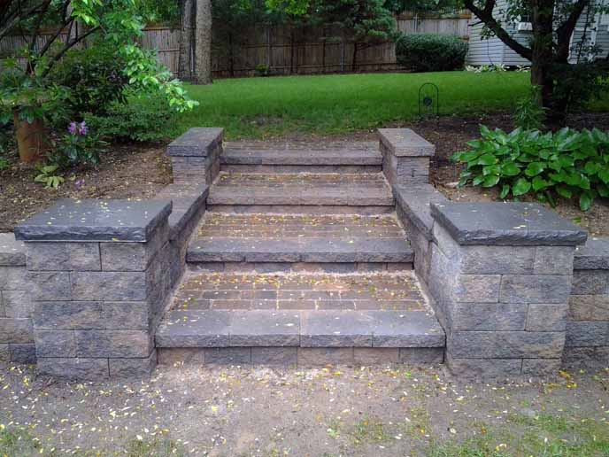 Long Island Paver Steps Stoops Suffolk
